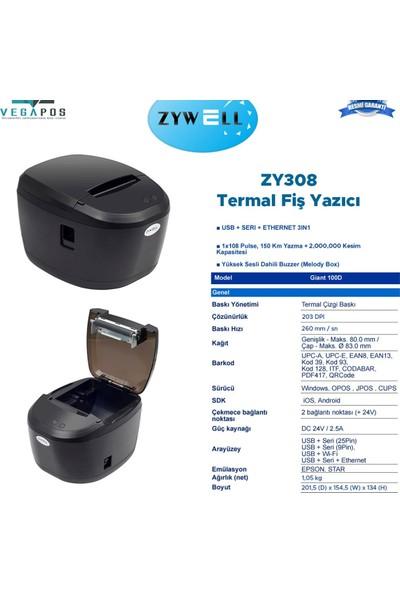 Zywell ZY308 Termal Fiş Yazıcı