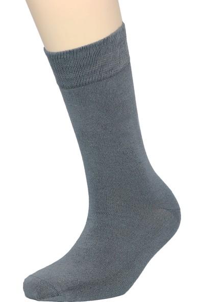 Fandd Erkek Bambu Çorap Soket Dikişsiz Burun Kokulu 12 Çift (6 Siyah, 2 Gri, 2 Kahve 2 Laci)