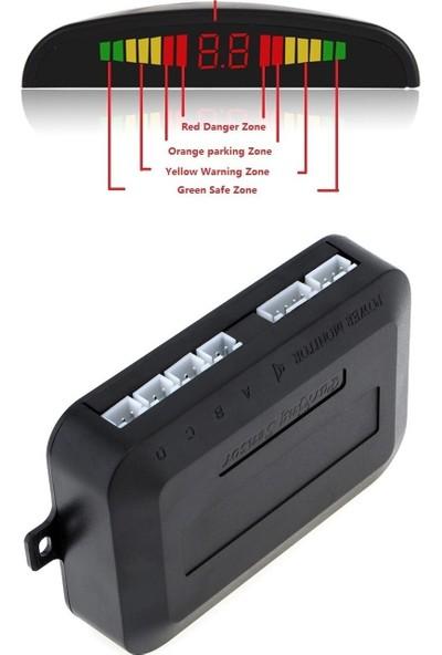 Sepet Tuning Park Sensörü LED Ekranlı Gri Renk Türkçe Konuşanlı