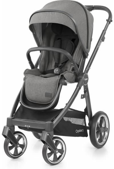 Oyster 3® Bebek Arabası - Mercury City Grey