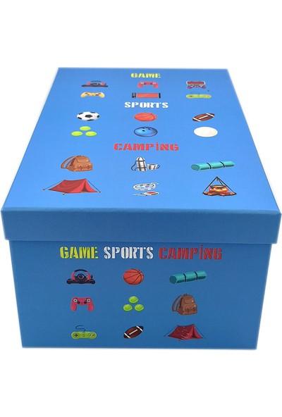 Ambalajist Hediye Kutusu Game Sport Camping 4 No Kutu
