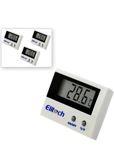 Elitech 3 Adet Elitech ST-1A Mini Kablolu Termometre