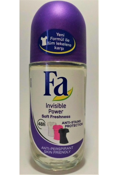 Fa Invisible Power Soft Freshness Roll On 50ML