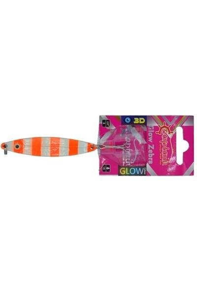 Captain Captian Kaşık Zebra Glow 9 cm 26 gr Color : 04