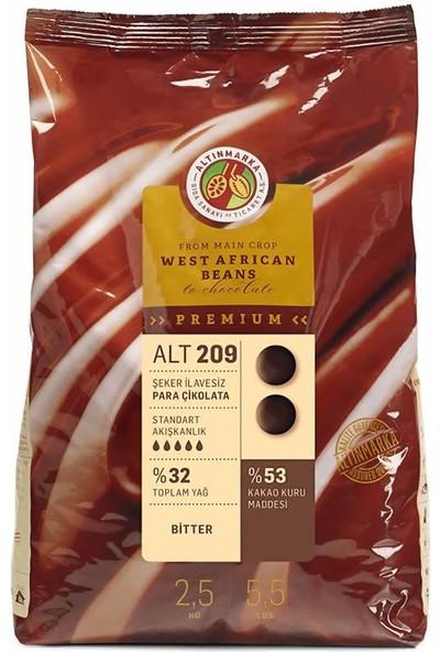 Altınmarka Şeker İlavesiz Bitter Mini Para Çikolata ALT-209 2,5 kg