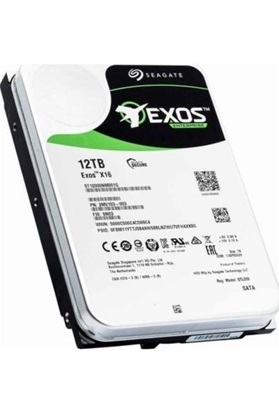 "Seagate 12TB Exos 3.5"" Sata 3.0 7200 Rpm Harddisk ST12000NM001G Harddisk"