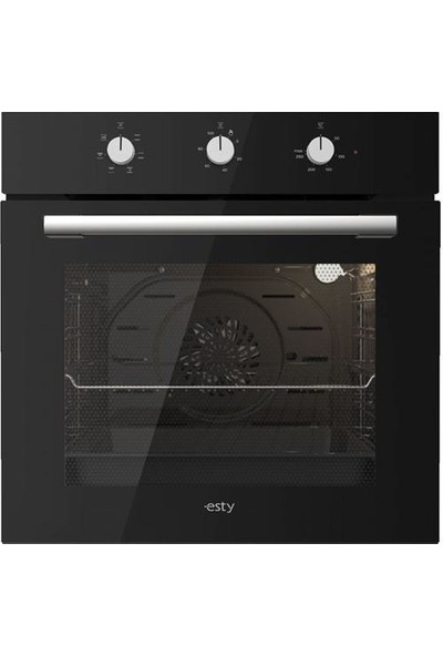 Esty Siyah Cam Ankastre Set (AEF6602B01 Fırın, ACO5335B01 Ocak, 3471B6 60 cm Davlumbaz)