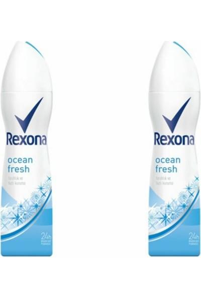Rexona Ocean Fresh Pudrasız Deodorant 150ML 2'li