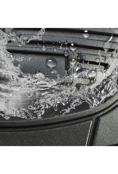 Vavka 2019 Model Volvo XC40 Için 4d Havuzlu Tip Universal Paspas - Gri Kromlu