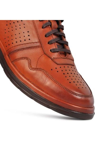 Dr.flexer 630004 Taba Hakiki Deri Comfort Erkek Günlük Ayakkabı
