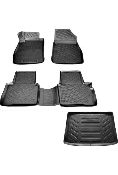 Nissan Juke 3D Havuzlu Paspas+Bagaj Havuzu (Alt) 2015-2020 Arası-Friemats Marka