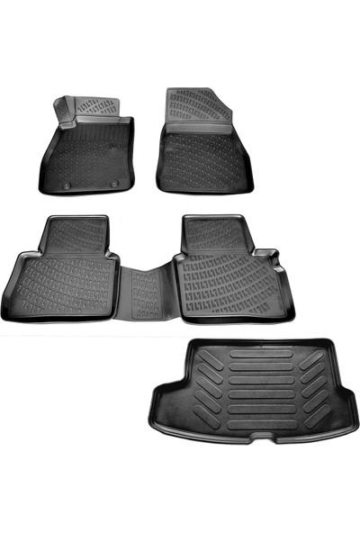 Nissan Juke 3D Havuzlu Paspas+Bagaj Havuzu (Üst) 2015-2020 Arası-Friemats Marka