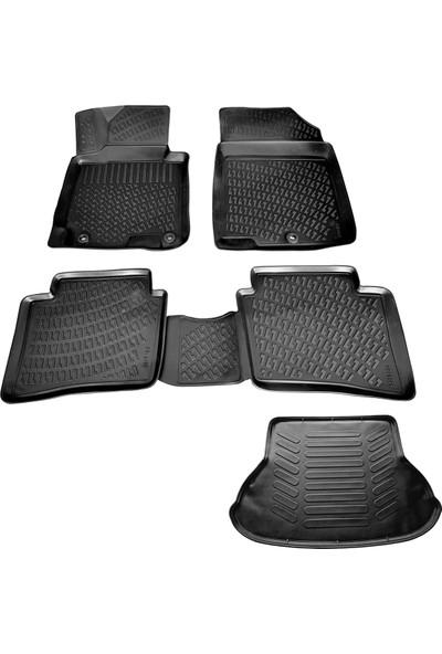 Hyundai Elantra 3D Havuzlu Paspas+Bagaj Havuzu 2011-2015 Arası-Friemats Marka