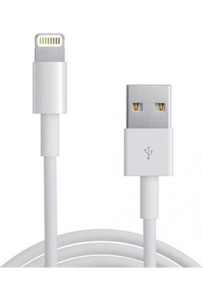 Daytona 15.5W Çift Girişli Apple iPad Air / Air 2/ Air3 iPhone 5 6 6s 7 7s 8 X Plus Şarj Adaptörü + Kablo (Oem)