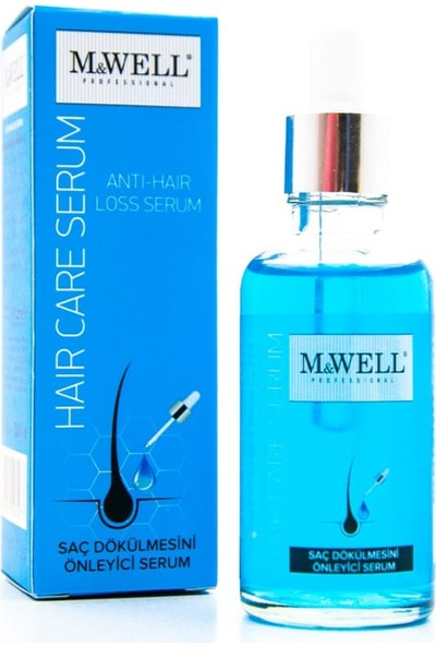 M&well Mavi Su Hair Care Serum Saç Dökülmesine Karşı 50ML