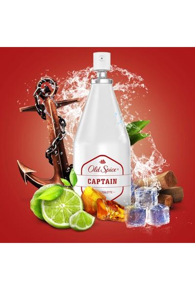 Old Spice Captain Eau De Toilette 100 ml