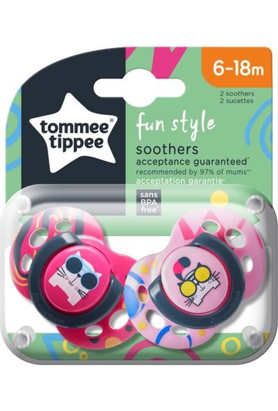 Tommee Tippee 2x Fun Emzik 6-18 Ay Pembe