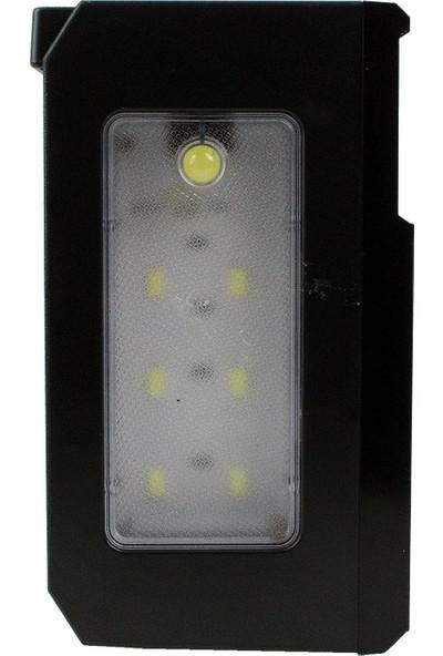 Hobimtek NS-2032S Solar Bluetooth Radyo Güneş Enerjili Gece Lambalı 18 cm