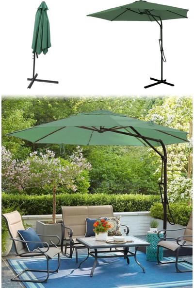 Evinizin Atölyesi 3 M Yeşil Ampül Bahçe Şemsiyesi