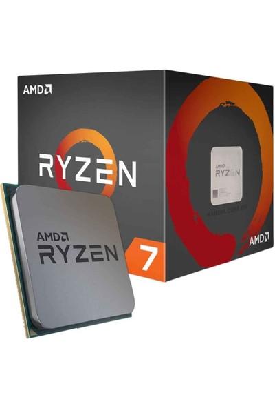 Zetta Flex AMD Ryzen 7 1700X 32GB 256GB SSD GT1030 Freedos Masaüstü Bilgisayar ZT23340