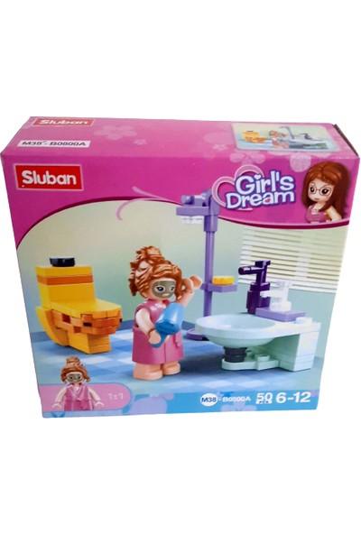 Sluban Girl's Dream 50 Parça Banyo Seti