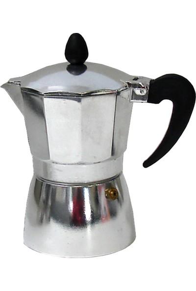 Marietti Alüminyum Ocaküstü Moka Pot 3 Cup