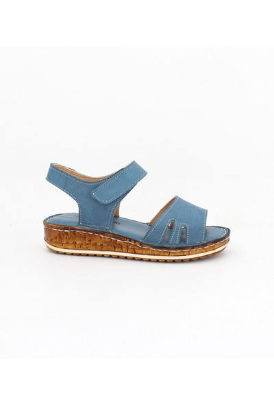 Tarçın Deri Kadın Deri Sandalet TRC162-0011