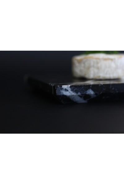 Marble Handmade Mermer Sunum Tabağı