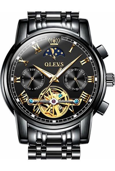 Olevs Mekanik Otomatik Erkek Kol Saati (Yurt Dışından)