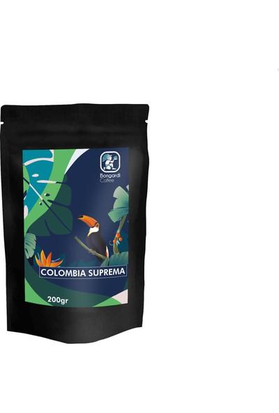 Bongardi Coffee 3 x 200 gr Santos Etiyopya Colombia Filtre Kahve Makinesi Uyumlu Öğütülmüş Veya Çekirdek