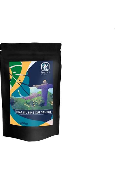 Bongardi Coffee 3 x 200 gr Santos Etiyopya Meksika Filtre Kahve Makinesi Uyumlu Öğütülmüş Veya Çekirdek