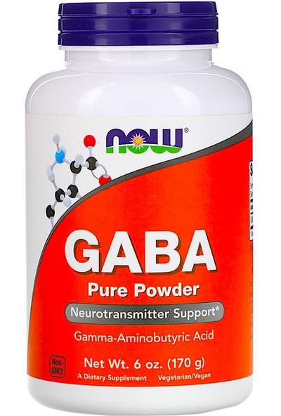 Now Foods, Gaba, Pure Powder, 6 Oz ( 170 G )