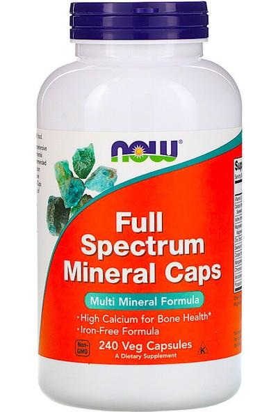 Now Foods, Full Spectrum Minerals Caps, 240 Veg Capsules