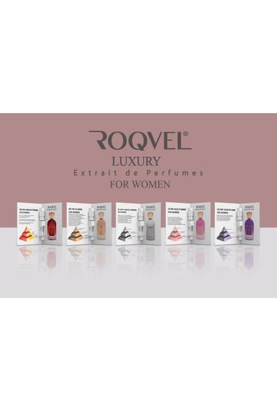 Roqvel Kadın Parfüm Deneme Seti 5 Adet x 3 ml