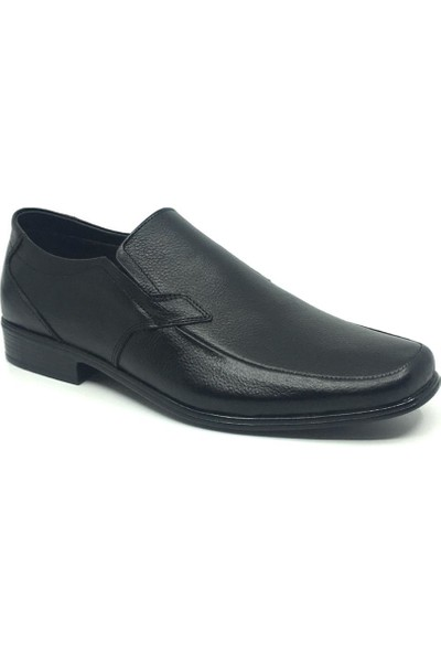 Rota Deri Erkek Günlük Rahat Yazlık Klasik Ayakkabı 40 Siyah