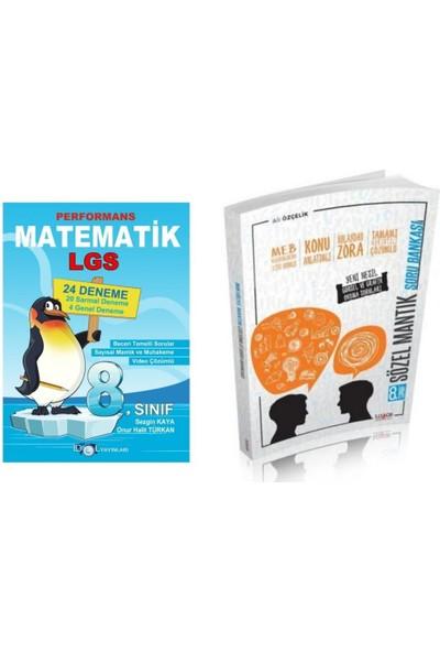 İdol Yayınları 8. Sınıf LGS Idol 24 Lü Matematik Deneme ve Lodos Sözel Mantık