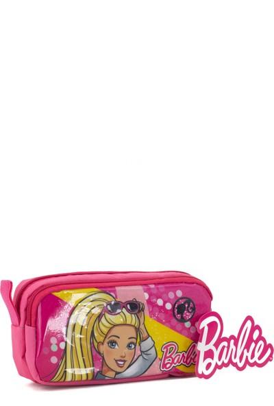 Hakan Çanta Lisanslı Barbie Karakterli Çift Gözlü Kalemlik Kutusu