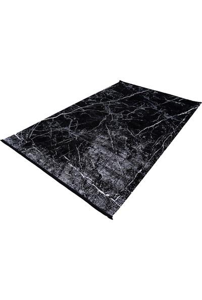 Naar Nero NO08A 200X290 Siyah Dikdörtgen Halı ~ 5.8 M2