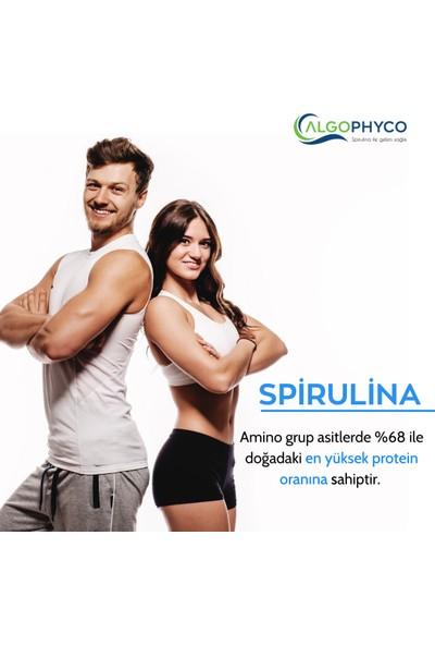 Algophyco Spirulina 100GR, %100 Saf, Doğal, Yerli Üretim