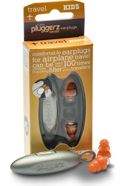 Pluggerz Uçak İçin Kulak Tıkacı, Çocuklara Özel