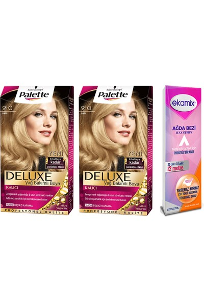 Palette Deluxe 9.0 Sarı 2 Adet