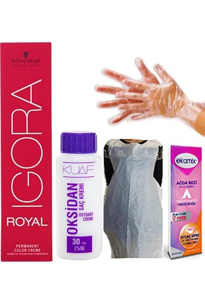 Igora Royal 9-60 Sarı-Doğal Çikolata-Oksiden 30 Volum