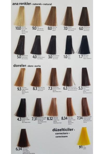 Alix Boya 11-00 Extra Açıcı Sarı 2 Adet-Oksidan 30 Volum 2 Adet