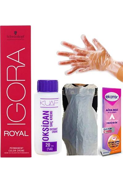 Igora Royal 0-77 Bakır Yoğunlaştırıcı Oksidan 30VOL