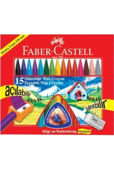 Faber-Castell Silinebilir Mum Boya 15 Renk