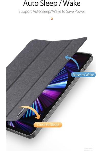 Haweel Apple iPad Pro 12.9'' 5.nesil A2378 A2461 A2379 A2462 Standlı Mıknatıslı Premium Kapaklı Kılıf
