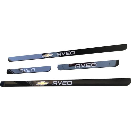 Chevrolet Aveo (2006-2011) Sedan HB Pleksi Kapı Eşiği Basamak Çıtası 2006-2011 Modele Uygun