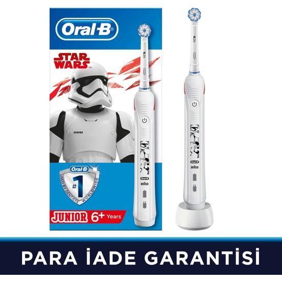 Oral-B Junior Starwars Çocuklar İçin Şarj Edilebilir Diş Fırçası (6+ Yaş)