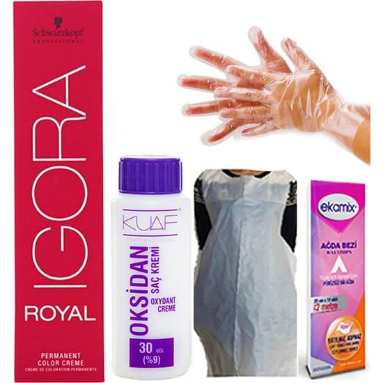 Igora Royal 8-50 Açık Kumral Doğal Altın Oksidan 30VOL
