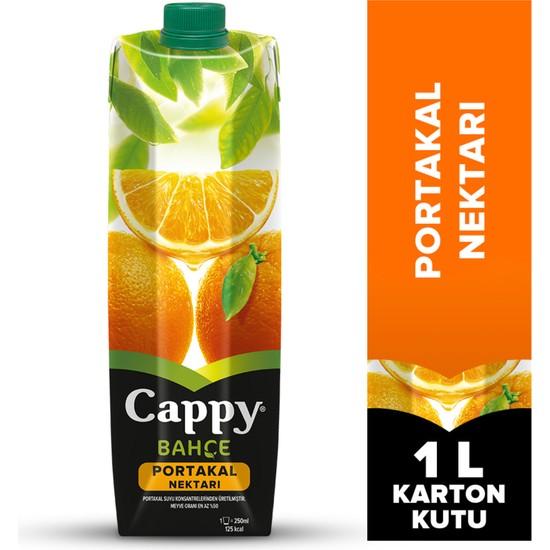Cappy Portakal Suyu Tetrapak 1lt